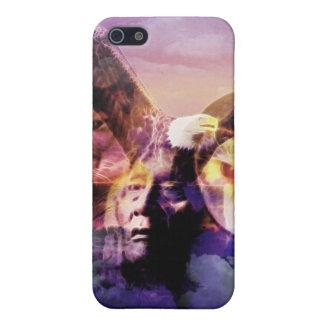 Gebürtiger Ureinwohner-Krieger iPhone 5 Cover