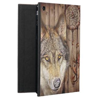 Gebürtiger Ureinwohnerwolf des Westerntraumfängers