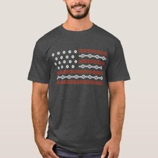 Gebürtiges amerikanische Flagge Shirt