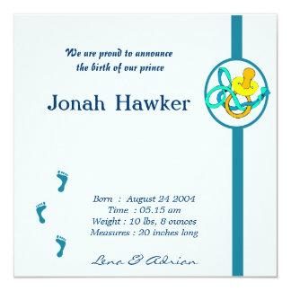 Geburts-Mitteilung Personalisierte Einladungskarten