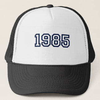 Geburtsjahr-T - Shirt 1985 Truckerkappe