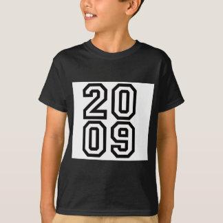 Geburtsjahr-T - Shirt 2009 oder -hut