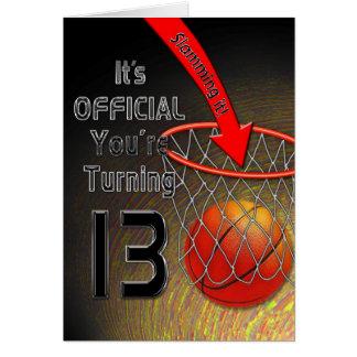 GEBURTSTAG Basketball - 13. Karte