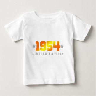 Geburtstag der begrenzten Ausgaben-1954 Baby T-shirt