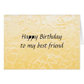 Geburtstag des besten Freunds Karte