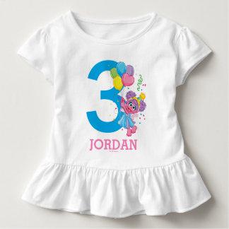 Geburtstag des Sesame Street-  Abby Cadabby Kleinkind T-shirt