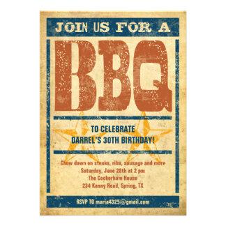 Geburtstag GRILLEN Einladungen
