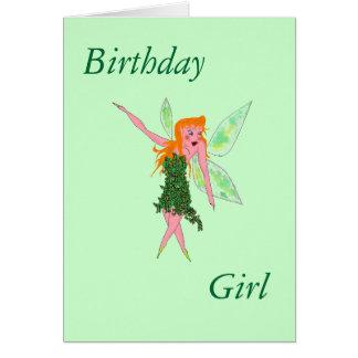 Geburtstag, Mädchen Karte