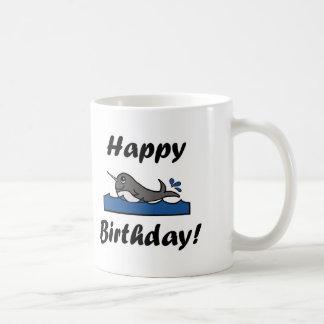 Geburtstag Narwhal Kaffeetasse