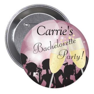Geburtstag oder Bachelorette Diva-Mädchen-Nacht Runder Button 7,6 Cm
