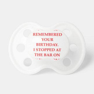 Geburtstag Schnuller
