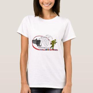 Geburtstags70ème des Ausladens von Normandie T-Shirt