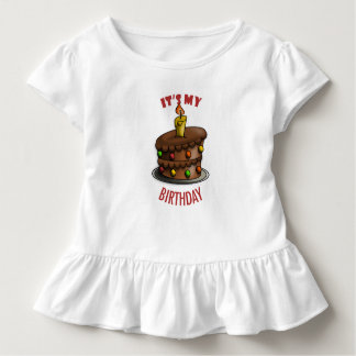 Geburtstags-Babykörper-Anzug Kleinkind T-shirt