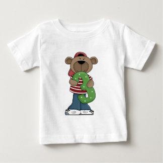 Geburtstags-Bär 3 Baby T-shirt