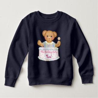Geburtstags-Bärn-Mädchen - zweiter Geburtstag Sweatshirt