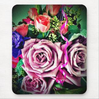 Geburtstags-Blumen Mousepads