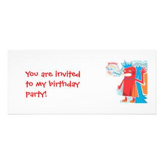 Geburtstags-Einladungs-Schwätzer-Einladung