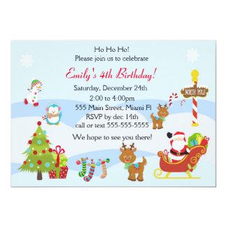 Geburtstags-Einladungs-Weihnachten scherzt Party Karte