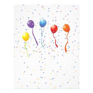 Geburtstags-Feier 1 21,6 X 27,9 Cm Flyer