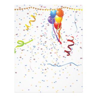 Geburtstags-Feier 2 Vollfarbige Flyer