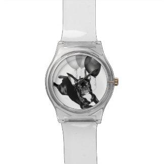 Geburtstags-französische Bulldogge Uhr