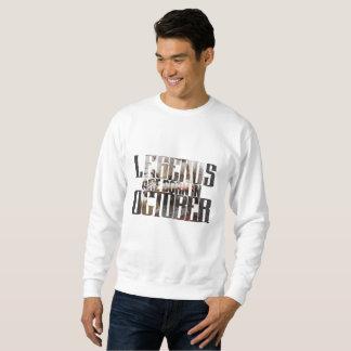 Geburtstags-im Oktober Sweatshirt