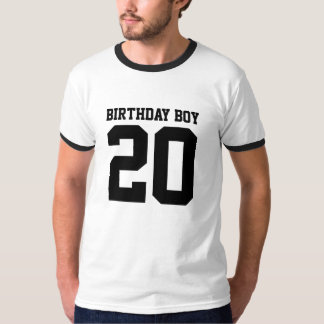 Geburtstags-Junge 20 Hemd