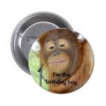 Geburtstags-Junge Anstecknadelbutton