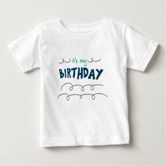 Geburtstags-Junge Baby T-shirt