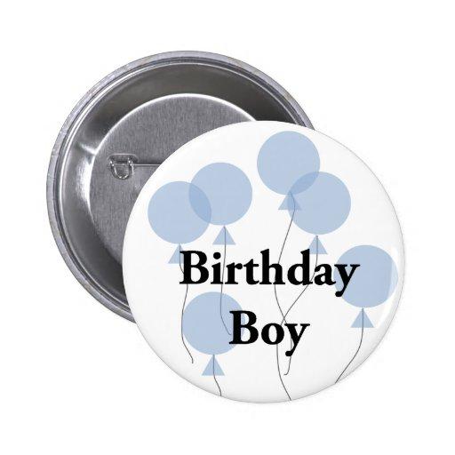 Geburtstags-Junge Anstecknadelbuttons
