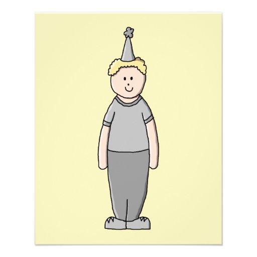Geburtstags-Junge Flyer