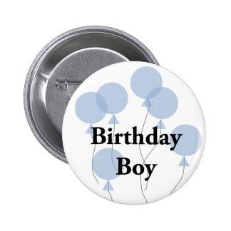 Geburtstags-Junge Runder Button 5,1 Cm