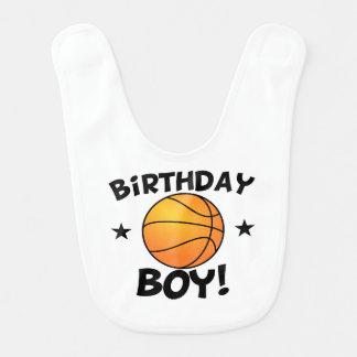 Geburtstags-Jungen-Basketball Lätzchen