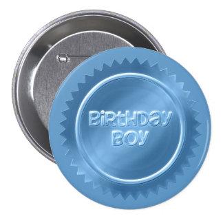 Geburtstags-Jungen-Knopf Runder Button 7,6 Cm