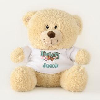Geburtstags-Jungen-Teddybär Teddybär