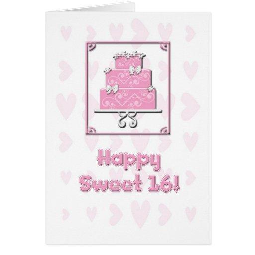 Geburtstags-Karte des Bonbon-16