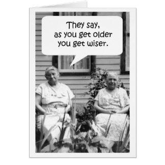 Geburtstags-Karte - Genie Karte