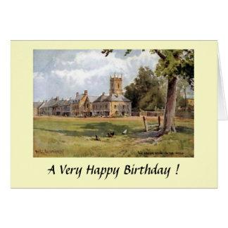 Geburtstags-Karte - Laderaum-auf-d-Wold Karte
