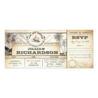Geburtstags-Karteneinladungen des 10,2 X 23,5 Cm Einladungskarte