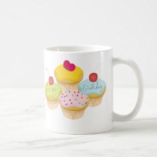 Geburtstags-kleine Kuchen Kaffeetasse