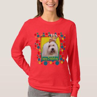 Geburtstags-kleiner Kuchen - Baumwolle de Tulear T-Shirt