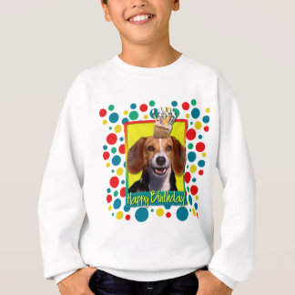 Geburtstags-kleiner Kuchen - Beagle Sweatshirt