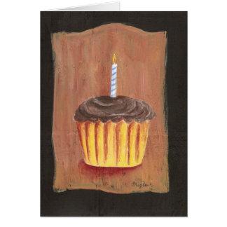 Geburtstags-kleiner Kuchen Notecard Karte