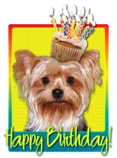 Yorkshire Terrier Geburtstag Geschenke Zazzle De