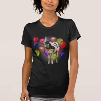 Geburtstags-Kuh-Thema-Party T-Shirt