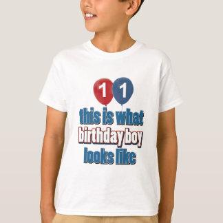 Geburtstags-Mädchen 11 T-Shirt