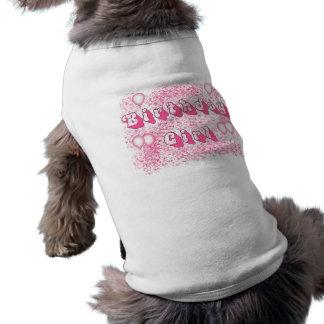 Geburtstags-Mädchen (Rosa) Hundebekleidung