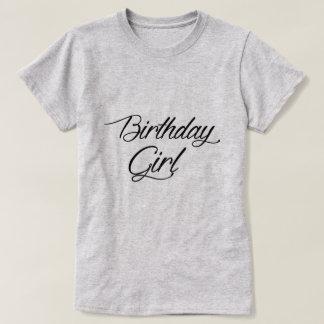 Geburtstags-Mädchen-T-Shirt T-Shirt