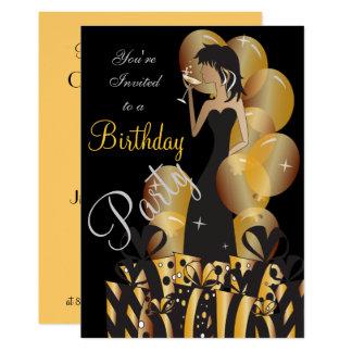 Geburtstags-oder Karte