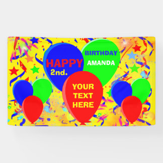 Geburtstags-Party Banner